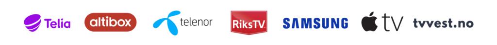 TV Vest - lokal-tv for ditt område 2021 TV Vest distributorer logobar