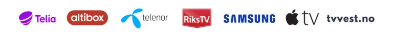 TV Vest Rogaland 2021 TV Vest distributorer logobar